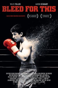 "Plakat zu ""Bleed for This"" © 2017 Film-Freak"