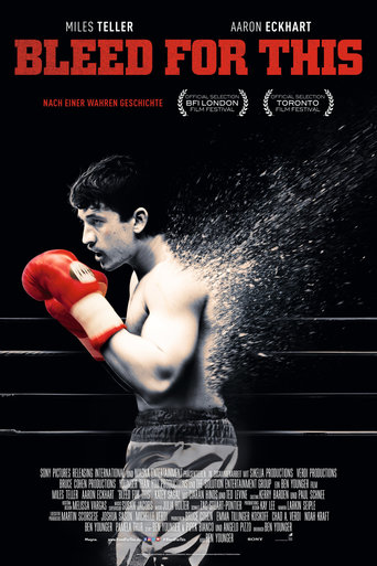 "Plakat zu "" Bleed for This""© 2017 Film-Freak"