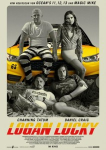 "Plakat zu ""Logan Lucky"" © 2018 Film-Freak"
