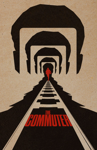 "Plakat zu "" The Commuter""© 2018"