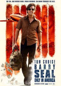 "Plakat zu ""Barry Seal – Only in America"" © 2018 Film-Freak"