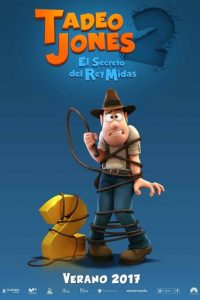 "Plakat zu ""Tad Jones 2"" © 2018 Film-Freak"